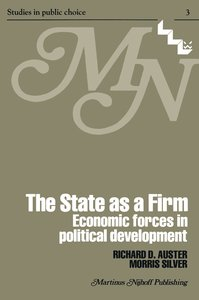 The State as a Firm