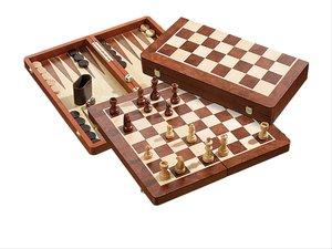 Philos 2520 - Schach-Backgammon-Dame-Set