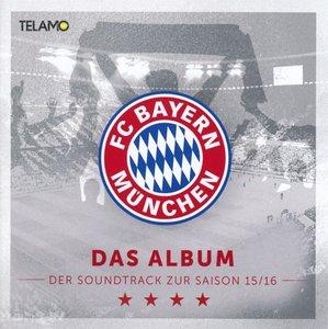 """FC Bayern München Pres. """"Das Album""""Saison 15/16"""