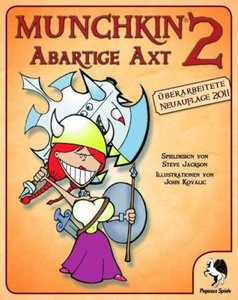 Pegasus Spiele 17110G - Munchkin 2: Abartige Axt