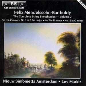Streichersinfonien (No.1/6/7/12) Vol.2