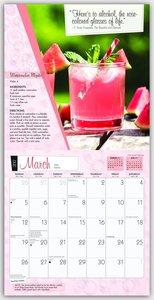 Cocktails mit Rezepten 2017 - 18-Monatskalender