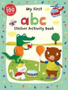 My First ABC Sticker Activity Book