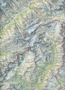 Swisstopo 1 : 100 000 Oberwallis