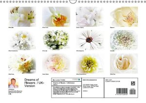 Dreams of Flowers / UK-Version (Wall Calendar 2015 DIN A3 Lands