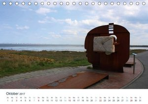 Kunst in Butjadingen 2017 (Tischkalender 2017 DIN A5 quer)