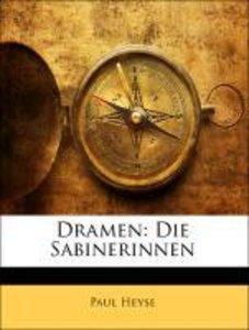 Dramen: Die Sabinerinnen, Neunter Band