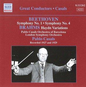 Sinfonie 1+4/Brahms