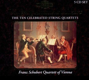 Mozart Celebrated String Quartets