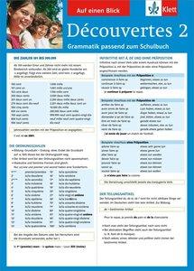 Découvertes 2 Grammatik passend zum Schulbuch