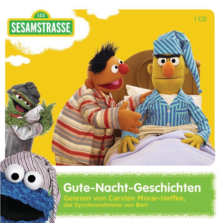 Sesamstraße Gute-Nacht-Geschichten - zum Schließen ins Bild klicken