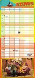 Shaun das Schaf Familienkalender 2016