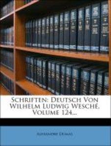 Alexander Dumas Schriften.