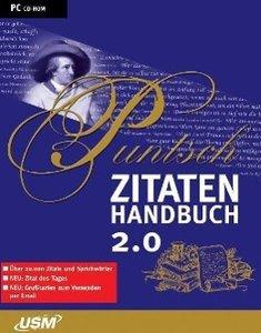 Das Puntsch Zitatenhandbuch 2.0. CD-ROM für Windows 98/ ME/ 2000