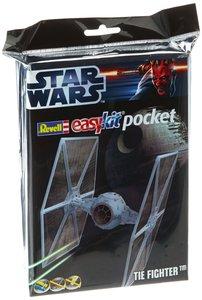 Revell 06734 - Tie Fighter, Easy Kit Mini-Steckmodell, Pocket im