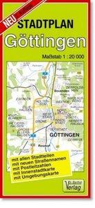 Göttingen 1 : 20 000. Stadtplan