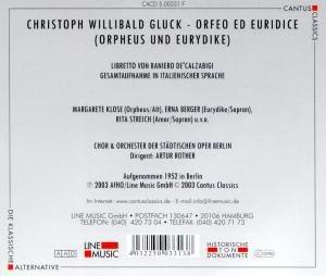 Orfeo Ed Euridice (GA)