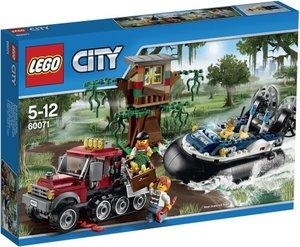 LEGO City 60071 - Verbrecherjagd im Luftkissenboot