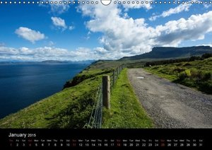 Skye - Scottish islands (Wall Calendar 2015 DIN A3 Landscape)