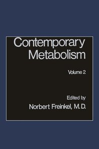 Contemporary Metabolism