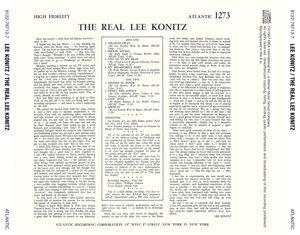 The Real Lee Konitz