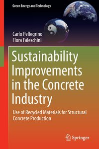 Sustainability Improvements in the Concrete Industry