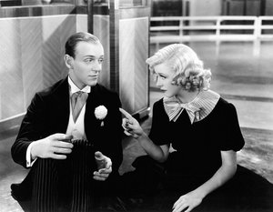 Fred Astaire und Ginger Rogers in Swing Time