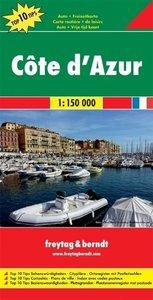 Cote d' Azur 1 : 150 000