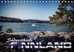 Südwestküste Finnland (Tischkalender 2016 DIN A5 quer)
