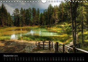 Mystische Dolomiten (Wandkalender 2016 DIN A4 quer)
