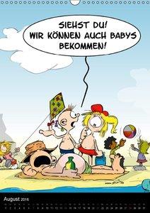 Trumix Comics: Kindermund (Wandkalender 2016 DIN A3 hoch)