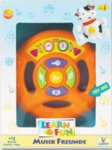 Toy Company 0001243 - Learn & Fun: Sound-Lenkrad