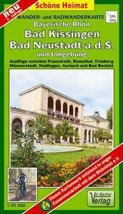 Rhön, Bad Kissingen, Bad Neustadt a.d.S. und Umgebung 1 : 35 000