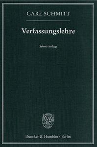 Verfassungslehre
