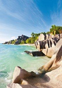 Inselglück auf den Seychellen (Posterbuch DIN A4 hoch)