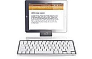 LIBERA Keyboard - Bluetooth for Tablet PCs, silver-white