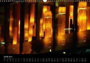 Berlin at night (Wall Calendar 2015 DIN A3 Landscape)