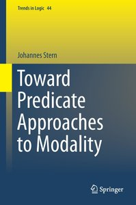Toward Predicate Approaches to Modality
