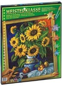 Schipper 609130308 - Stillleben Sonnenblumen, MNZ, Malen nach Za