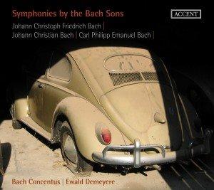 Sinfonien der Bach-Söhne