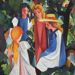 August Macke 2018. Expressionist Paintings. Expressio-/Impressio
