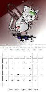 Funny Cats Making Mischief (Wall Calendar 2015 300 × 300 mm Squa