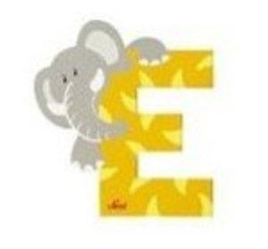 Sevi 81605 - Buchstabe: Elefant, E