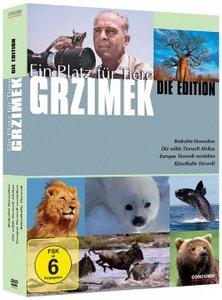 Grzimeks Ein Platz für Tiere-Die Edition (DVD)