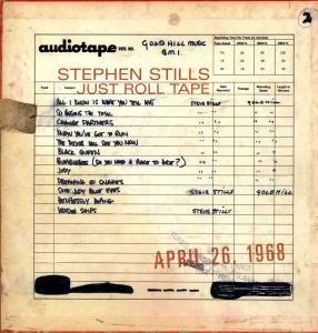 Just Roll Tape-April 26th 1968