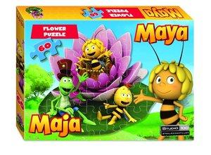 Die Biene Maja Puzzle 60 Teile Blumenform