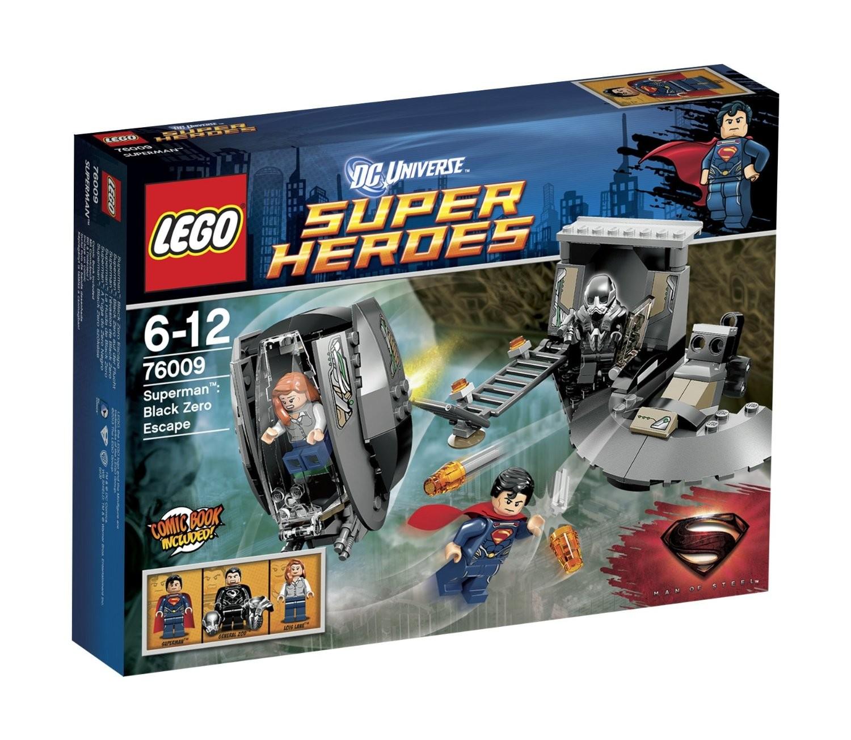Lego Superman 76009 - Superman: Black Zero auf der Flucht, Set 3 - zum Schließen ins Bild klicken