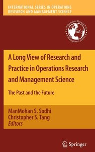 A Long View of Research and Practice in Operations Research and