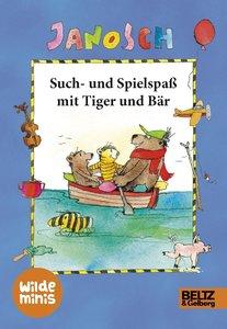 Such- & Spielspaß mit Tiger und Bär