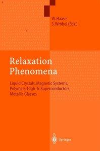 Relaxation Phenomena